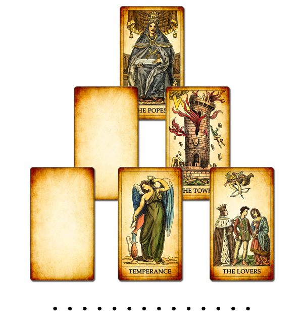 Example of tarot reading with the collective unconscious method
