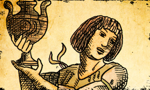Page of Cups in the Tarot