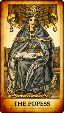 The Popess Tarot Card