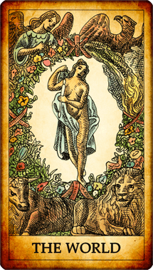 The World Tarot Card